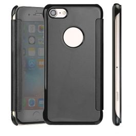 Clear View Case für iPhone 6 / 6s - Anthrazit / Spiegelnd