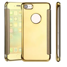 Clear View Case für iPhone 6 / 6s - Gold / Spiegelnd