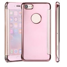 Clear View Case für iPhone 6 / 6s - Roségold / Spiegelnd