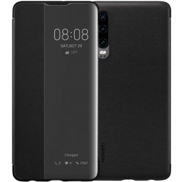 Huawei P30 Smart View Case - Schwarz