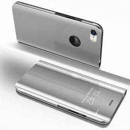 Clear View Case für iPhone 6 / 6s - Silber
