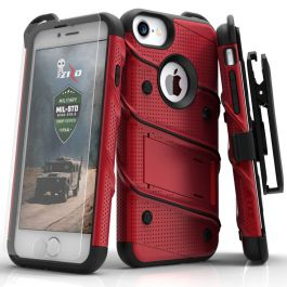 ZIZO 360° Full Cover Hülle für iPhone 6 / 6s - Rot