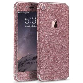 Glitzerfolie für iPhone 7 - Pink