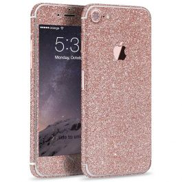 Glitzerfolie für iPhone 7 - Rosa