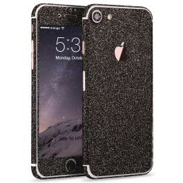 Glitzerfolie für iPhone 7 Plus - Anthrazit