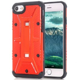 Outdoor Case für iPhone 6 / 6s - Transparent Rot