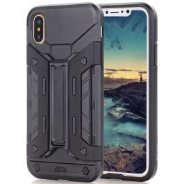 Outdoor Case für iPhone X - Schwarz