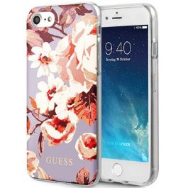 Guess Apple iPhone 7 Hülle - Blumen Motiv