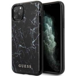 Guess iPhone 11 Pro Max Marble Case - Schwarz