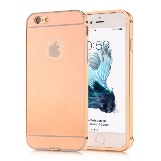 iPhone 6 Plus / 6s Plus Spiegel Hülle - Rosegold