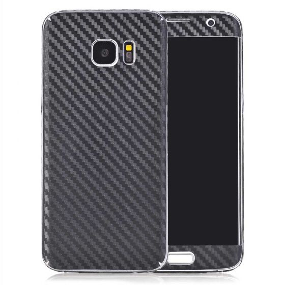 Handyfolie für Samsung Galaxy S7 in Carbon Optik