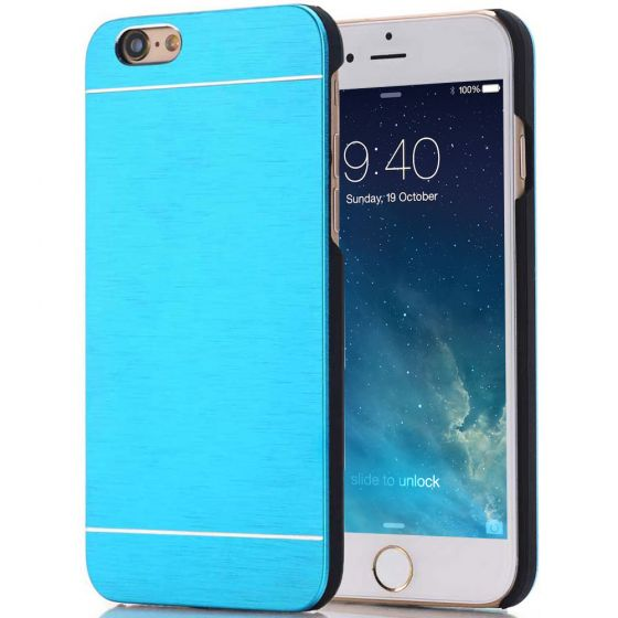 iPhone 6 Hülle Aluminium Case Blau