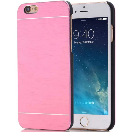 iPhone 6 Handyhülle Aluminium Case Rosa