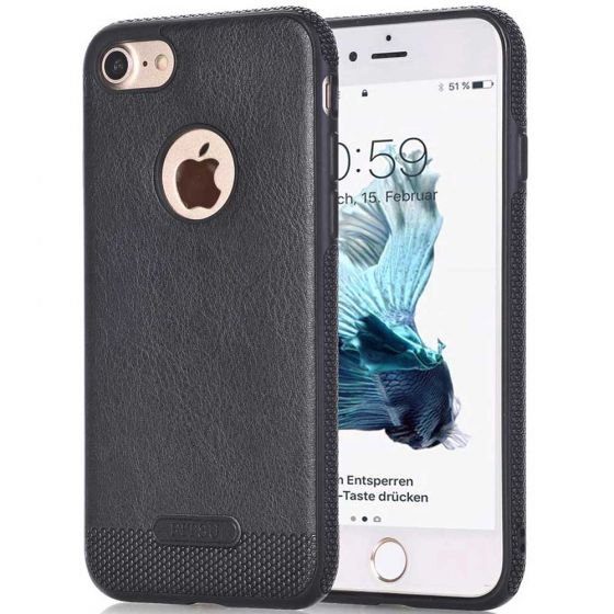 Apple iPhone 6 / 6s Case in Schwarz | handyhuellen-24.de