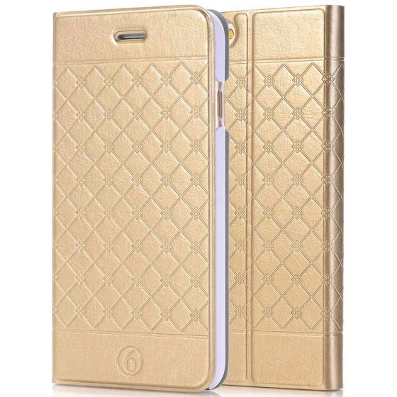 iPhone 6 / 6s Tasche in Gold | handyhuellen-24.de