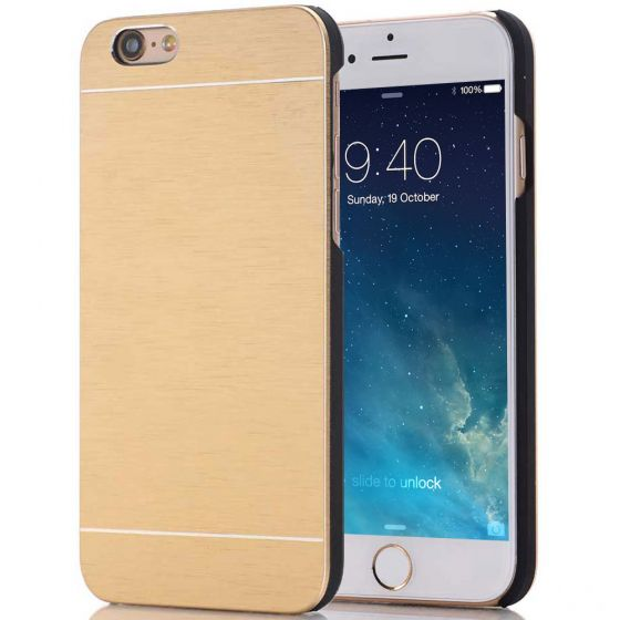 iPhone 7 Hülle Aluminium Case Gold
