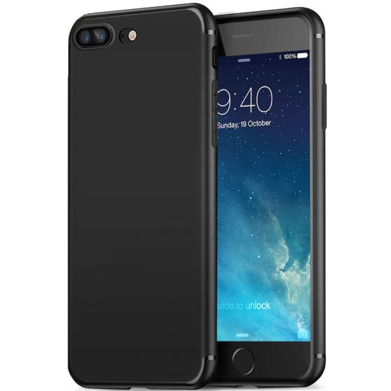 Apple iPhone 7 Hülle Ultra Slim Case - Schwarz