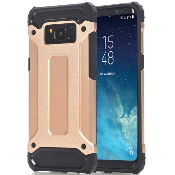 Samsung Galaxy S8 Hülle Outdoor Case in Gold