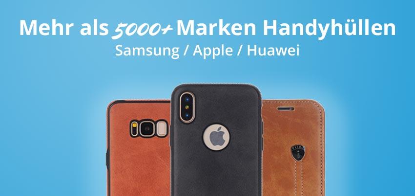 Handyhüllen für Samsung, iPhone und Huawei